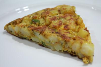 saffraan-aardappel-omelet
