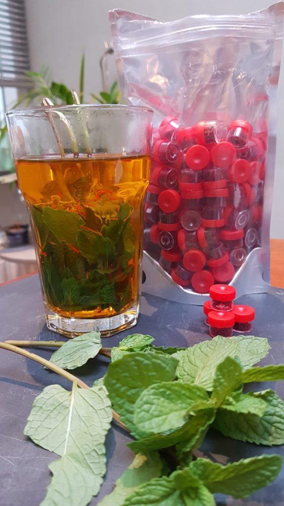 saffraan thee is lekker